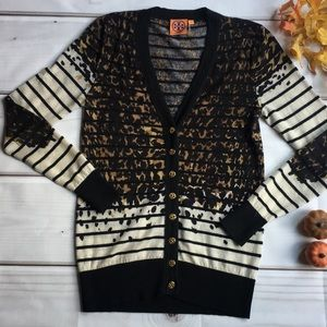 Adorable Tory Burch cardigan.
